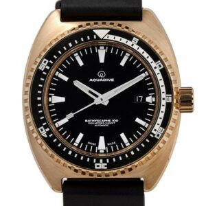 AQUADIVE Bathyscaphe Bronze MKII edition