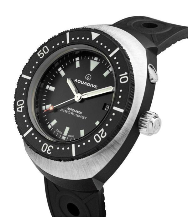 NOS AQUADIVE Model 77 ETA 2836  automatic on NATO or rubber strap