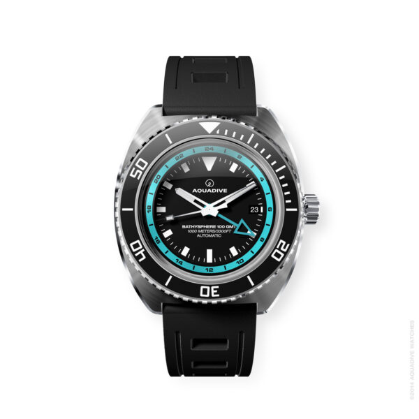 AQUADIVE Bathysphere 100GMT turquoise